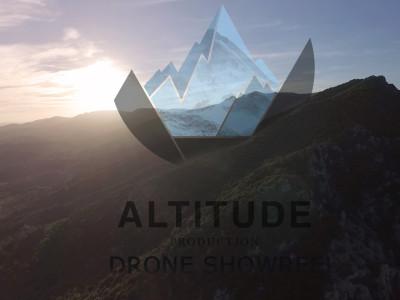 altitude drone show